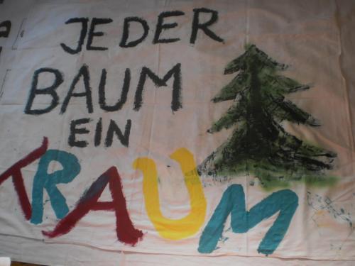 Jeder Baum ein Traum