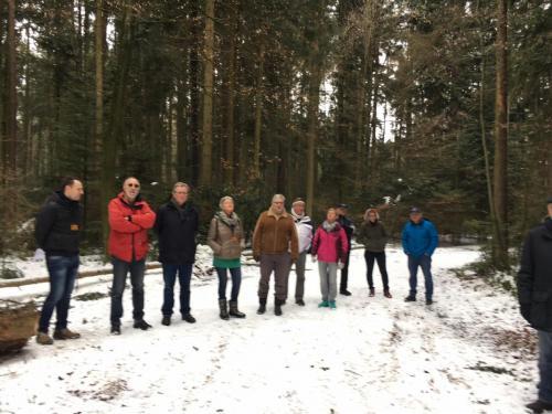 Waldbegehung mit dem Gemeinderat